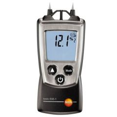TESTO -Pocket sized Moisture meter for material moisture ( 8.8 to 54.8 %) (606-1)+Free Calibration Certificate (T/T/MOM/TES/XXX/001)