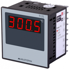 MULTISPAN- DIGITAL TEMPERATURE INDICATORS (TI-21)  + FREE CAL CERTIFICATE (002)