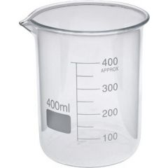 Maxima- Beakers(400 ml) (75 * 100 mm) (T/L/BKR/MAX/400/001)
