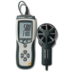 METRAVI - DIGITAL THERMO ANEMOMETER CUM PRESSURE METER WITH CFM & CMM (0.40 to 30.00 m/s) (AVM - 09) + FREE CALIBRATION CERTIFICATE