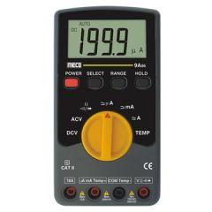 MECO - 3-1/2 DIGIT 2000 COUNT AUTORANGING DIGITAL MULTIMETER (1000 V) (9A06) WITH FREE CALIBRATION CERTIFICATE