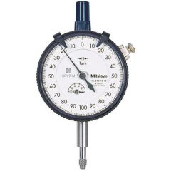 MITUTOYO - Plunger Type Dial  Gauge  (100 MM ) (3062) +Free Calibration Certificate