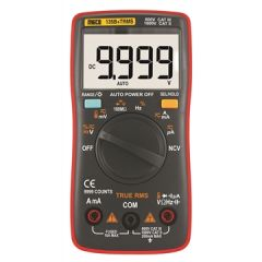 MECO- 4 DIGIT 9999 COUNT TRMS AUTORANGING POCKET SIZE DIGITAL MULTIMETER (135B+TRMS) + FREE CALIBRATION CERTIFICATE