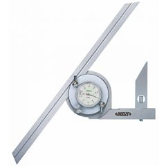 INSIZE-Universal Protractor (0-360? (2372-360) + Free Calibration Certificate
