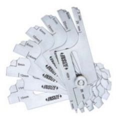 INSIZE- Fillet Welding Gauge (3-25mm)(4836-1) + Free Calibration Certificate