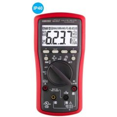 KUSUMMECO - TRMS Digital Multimeter With VFD, Ef-detection 3 phase Rotation-R & 3 phase Rotation-M ( KM 237R) +FREE CALIBRATION CERTIFICATE
