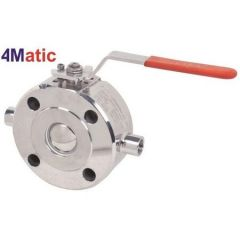 """AIRA- JACKETED BALL VALVE (1/2"""" TO 4"""") (001)"""