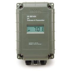 HANNA - pH Transmitters  (HI8614N) + Free Calibration Certificate
