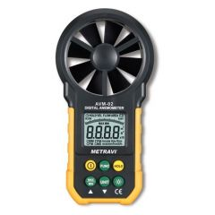 METRAVI- DIGITAL THERMO-ANEMOMETER ( 0.80 to 40 m/s ) (AVM-02) + FREE CALIBRATION CERTIFICATE