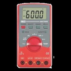 MECO- DIGITAL MULTIMETER (666TRMS) (750V AC) + FREE  CALIBRATION  CERTIFICATE