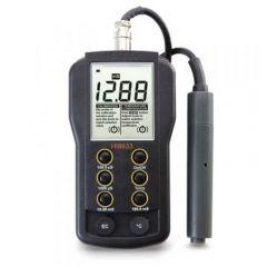 HANNA - Portable Multi Range Ec Meter  (0-199.9 mS/cm) (HI8633) + Free Calibration Certificate