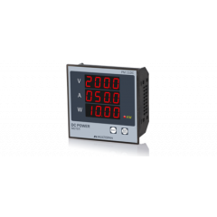 MULTISPAN- DC POWER METER (VAW KWh) (PM-11DC) + FREE CAL.CERTIFICATE (001)