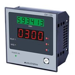 MULTISPAN- ENERGY (THREE PHASE ENERGY & POWER METER) (EM-13N) + FREE CAL.CERTIFICATE (003)