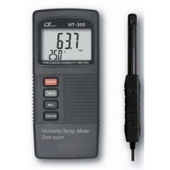LUTRON - Humidity Meter ( 10 -95 % RH) (HT-305)  +  Free Cal. Certificate