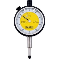 BAKER - Plunger Type Dial Gauge  Dial  ( 12 mm ) ( 56-K14 ) +Free Calibration Certificate