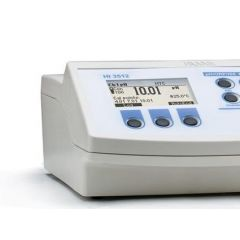 Hanna - Two Channel pH / ORP / ISE / EC / TDS / NaCl / C Meter / CalCheck + PC Interface (HI 3512)