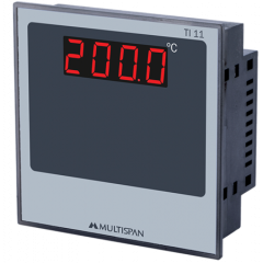 MULTISPAN- DIGITAL TEMPERATURE INDICATORS (TI-11)  + FREE CAL.CERTIFICATE (001)