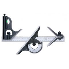 INSIZE - Combination Square Set  (2278 - 180) +Free Calibration Certiifcate