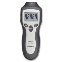 METRAVI - DIGITAL NON CONTACT TYPE TACHOMETER CUM DIGITAL COUNTER  (2 to 99,999 RPM) (NCTM - 1000) +FREE CALIBRATION CERTIFICATE