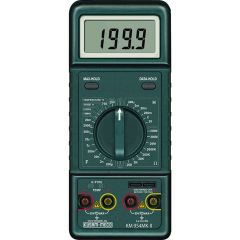 KUSUMMECO - 3 ½ Digit 1999 Counts Large Display Digital LCR Meter (KM 954MK-II)