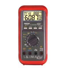 Kusummeco - 6000 Counts Dual Display TRMS Digital Multimeter With VFD Feature (KM 907) +Free Calibration Certificate