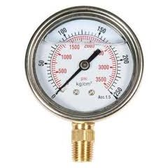 SUZHIK-Pressure Gauge (0-70 kg , 6'' DIA, M.S , Without Glycerin) + Free Calibration Certificate