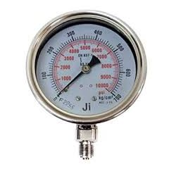 SUZHIK-Pressure Gauge (0-700 kg , 2'' DIA, M.S , Without Glycerin) + Free Calibration Certificate
