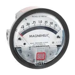 "OMICRON - Megnahelic  Gauge ( 100"" wc ) + Free Calibration Certificate"