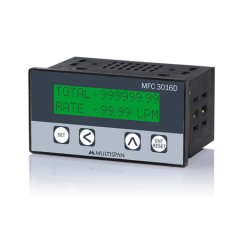 MULTISPAN- FLOW RATE INDICATOR CUM TOTALISER (MFC-3016D) + FREE CAL.CERTIFICATE (003)