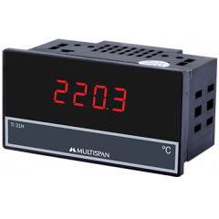 MULTISPAN- DIGITAL TEMPERATURE INDICATORS (TI-31H)   + FREE CAL.CERTIFICATE