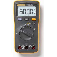 Fluke - Palm-sized Digital Multi meter (600 V AC/DC) (Fluke-107) +Free Calibration Certificate (T/E/DMM/FLK/600/004)