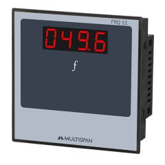 MULTISPAN- SINGLE PHASE PANEL METER (FRQ-11) +  FREE CAL.CERTIFICATE (002)