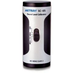 METRAVI - SOUND LEVEL CALIBRATOR  (94dB - 114dB ) (SC-05) + (T/M/SLC/MET/114/001)