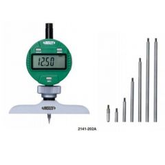 INSIZE -DIGITAL DEPTH GAUGE ( 0- 300MM ) (2141-202A ) + FREE CALIBRATION CERTIFICATE