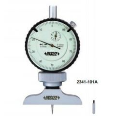 INSIZE - DIAL DEPTH GAUGE ( 0- 10MM ) (2341-101A ) + FREE CALIBRATION CERTIFICATE