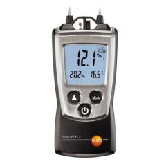 TESTO -  Moisture meter for material moisture and relative humidity (-10°C to +50 °C ) (606-2) +Free Calibration Certificate (T/T/MOM/TES/050/001)