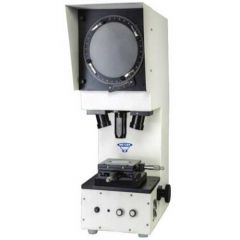 METZER - PROFILE PROJECTOR VISION PLUS (METZ – 300 T.T.) WITH DIGITAL MICROMETER HEADS.
