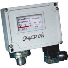 OMICRON -Industrial Pressure Switch (IPS) (Diaphragm Type I) + Free Calibration Certificate