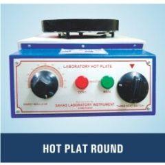 "Maxima- Hot Plates (  4"" Dia. , Round, S.S 304 ) (SLI-270)"