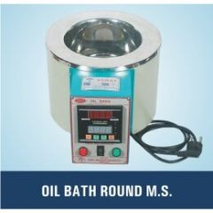 Maxima- Oil Bath (10Liter , M.S) (SLI-350) With Digital Temperature Controller