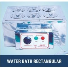 Maxima- Water Bath ( 30*40*10 cms , Rectangular ) (T/L/WTB/MAX/095/004)