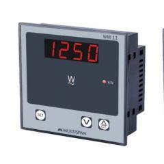 MULTISPAN-1 PHASE WATT METER  (WM-11) + FREE CAL.CERTIFICATE (001)