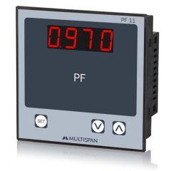 MULTISPAN- SINGLE PHASE POWER FACTOR METER (PF-11) + FREE CAL.CERTIFICATE (001)