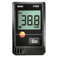 TESTO -  Temperature and humidity mini data logger (174-H) + Free Calibration Certificate