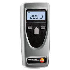 TESTO - DIGITAL TACHOMETER (1 TO 99999 RPM) (465)+FREE CALIBRATION CERTIFICATE