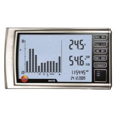 TESTO - HYGROMETER FOR MEASURING TEMPERATURE AND RELATIVE HUMIDITY (-10 TO 60 C) (623) WITH CALIBRATION CERTIFICATE