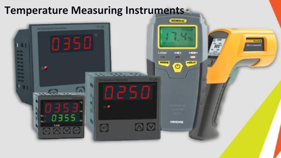 What Role does a Different Temperature Measuring Instruments Plays?